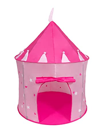 Cinderella USA Girlu0027s Pink Princess Play Castle Pop Up Tent | Play Tent | Girls Tents  sc 1 st  Amazon.com & Amazon.com: Cinderella USA Girlu0027s Pink Princess Play Castle Pop Up ...