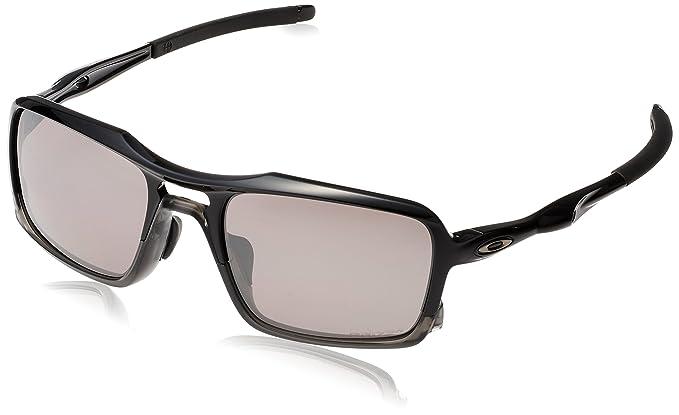 1217fb93a013 Oakley Men's (a) Triggerman OO9314-06 Polarized Iridium Rectangular  Sunglasses, Polished Black