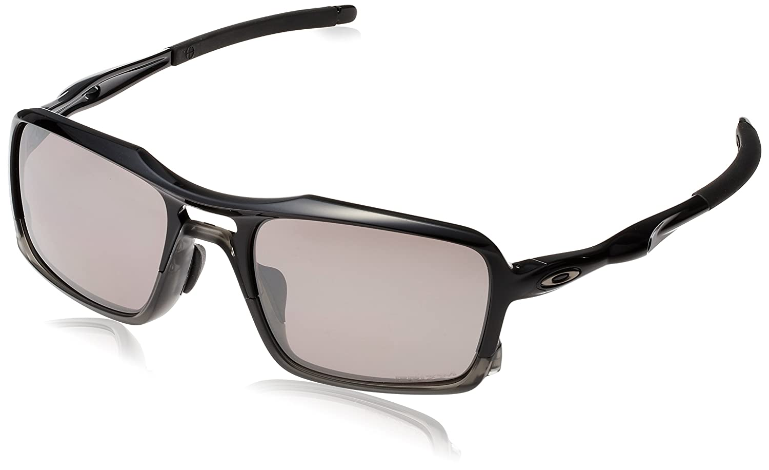 3865f35fe0b Oakley Men s (a) Triggerman OO9314-06 Polarized Iridium Rectangular  Sunglasses