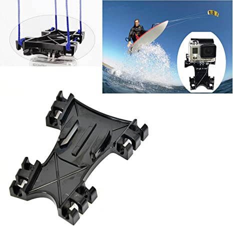 Hooshion Kitesurfing Kiteboarding Line Mount Adapter Kiteboarding Line Mount Halterung Für Gopro Hero 8 7 6 5 4 3 3 2 1 Sjcam Xiaomi Yi Action Kamera Elektronik