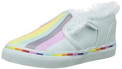 27d7fbf9ec3 Vans Asher V Toddler Sneakers Basses Mixte bébé  Amazon.fr  Chaussures et  Sacs
