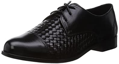 Cole Haan Women's Jagger Weave with Laces Oxford, Black, ...