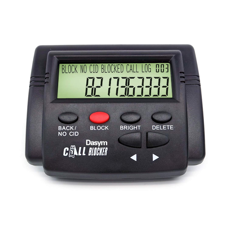 Call Blocker for Landlines, Call IdBlocker Block Unwanted Phone Calls,4000 Number,Spam Calls, NuisanceCalls, Robo Calls,Scam Calls,4000 Numbers Large Capacity (D)
