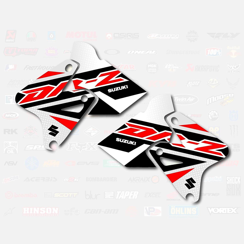 Red Shift Shroud Graphic Kit fits Suzuki DRZ400SM Drz400s drz400 DRZ Decal