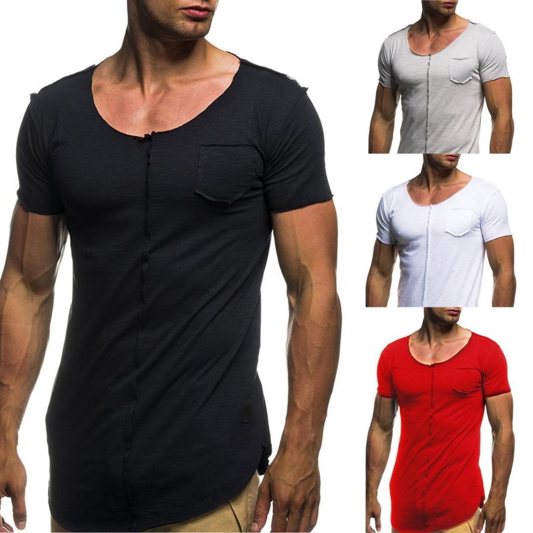 2df103099c8da FAMILIZO Camisetas Manga Corta Hombre Moda Camisetas Hombre Tallas Grandes  Camisetas Hombre Sport Camisetas Hombre ...
