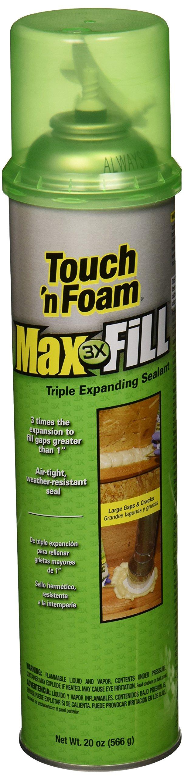 Convenience Products 20012 Maximum Fill Expanding Foam Sealant, 20-Ounce