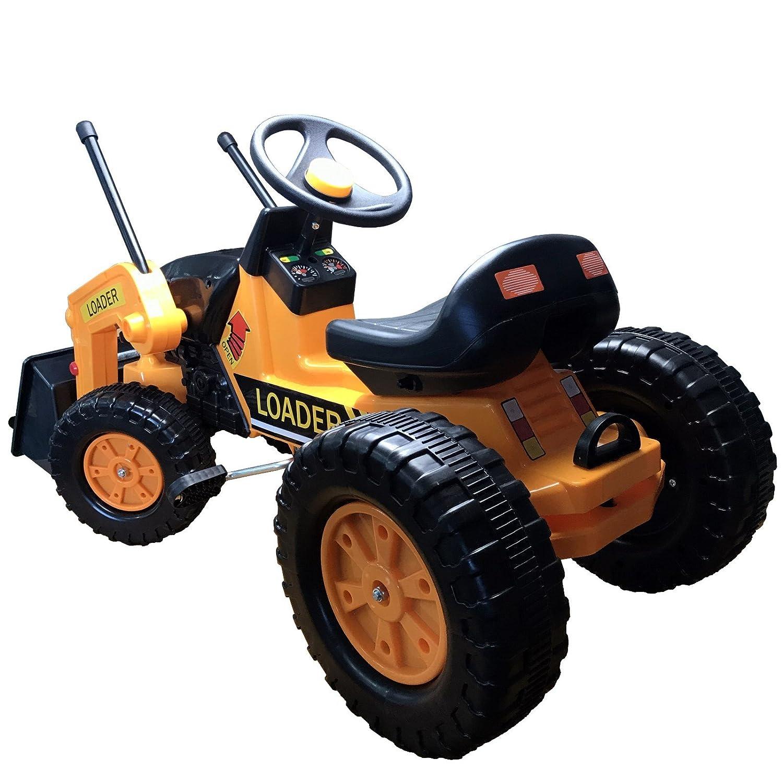 Niños Tractor frente Biblioteca Tractor Trekker Niños Pedal Pedal de tractor Tractor: Amazon.es: Juguetes y juegos