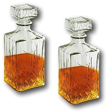 Whiskey kuchen im glas