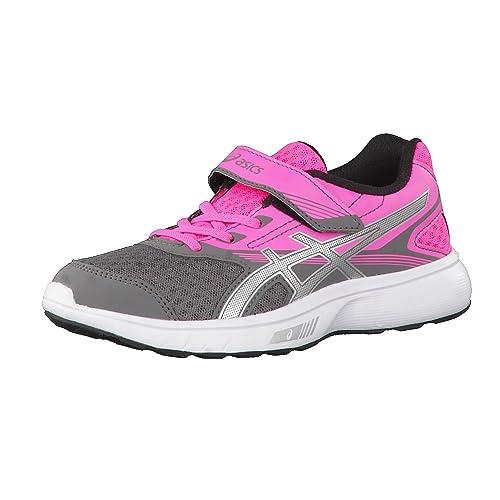 Zapatilla Deporte Niña ASICS STORMER PS VELCRO Rosa - 33: Amazon.es: Zapatos y complementos
