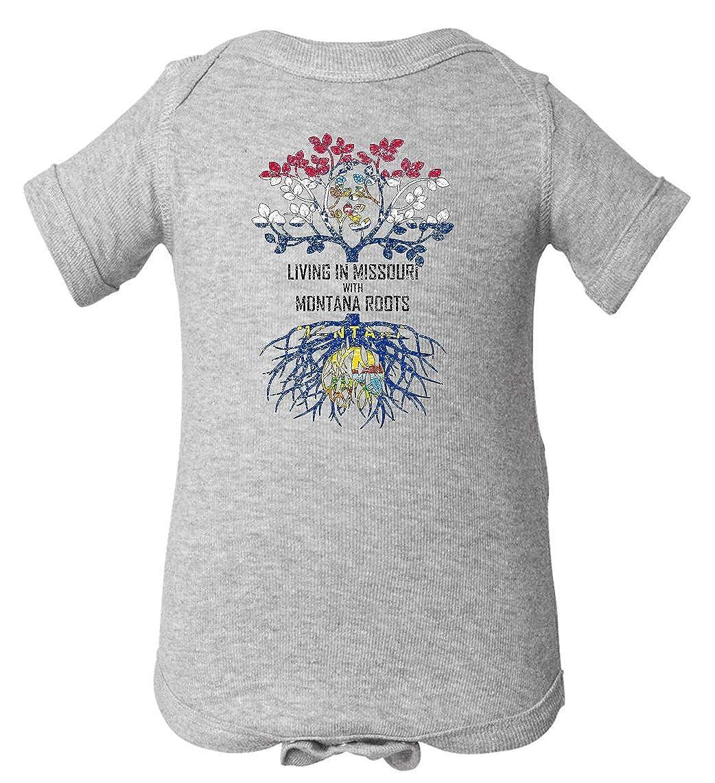 Tenacitee Babys Living in Missouri Montana Roots Shirt
