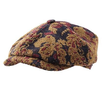 Stetson - Flat Cap Men Hatteras Ornament  Amazon.co.uk  Clothing 0afc8bde95f2