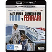 Ford V. Ferrari (4K Ultra HD + Blu-ray)(2 Disc)