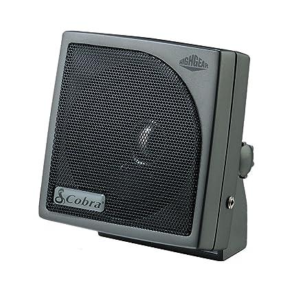 Cobra HGS-300 4 Dynamic Noise Canceling CB Extension Speaker - 15 Watts (1  Each)