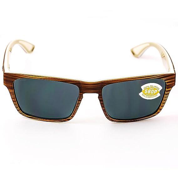 2ba3f2f358 Costa Del Mar Hinano HNO 108 Driftwood White Khaki Sunglasses for Mens -  Size