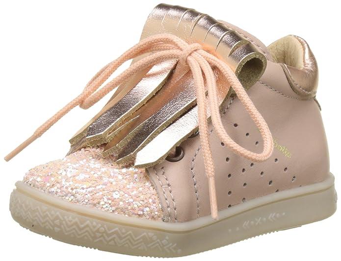 babybotte Ailzane, Sneaker a Collo Alto Bambina, Bianco (Blanc/Beige 324), 21 EU