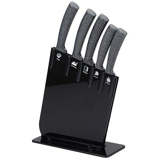 Compra San Ignacio Set 6pc cuchillos JARAMA GT tacoma negra ...