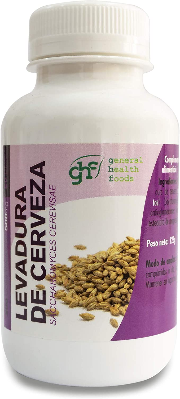 GHF Levadura Cerveza - 125 gr: Amazon.es: Salud y cuidado ...