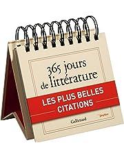 365 Jours de Litterature avec Gallimard
