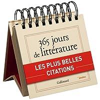 Calendrier - 365 jours de littérature avec Gallimard