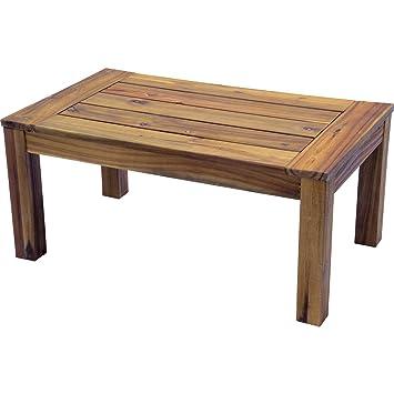 Salontisch Serra Beistelltisch Gartentisch Acacia Holz Teak Hartholz