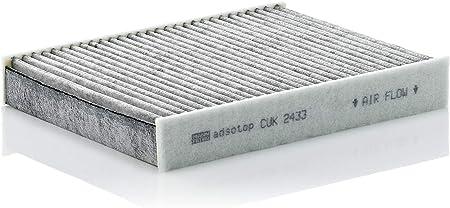 Original Mann Filter Innenraumfilter Cuk 2433 Pollenfilter Mit Aktivkohle Für Pkw Auto