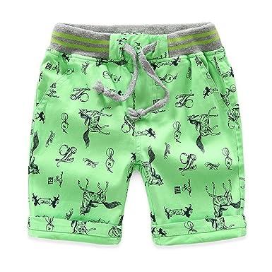 41e885987b19 Warring States Children Pants Trousers for Boys Cotton Boys Summer Shorts  Children Brand Beach Shorts Casual Sport Shorts Boys Kids Pants   Amazon.co.uk  ...