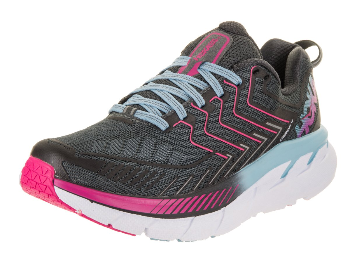 HOKA ONE ONE Women's Clifton 4 Running Shoe B01NALER0B 8.5 M US|Castlerock/Asphalt