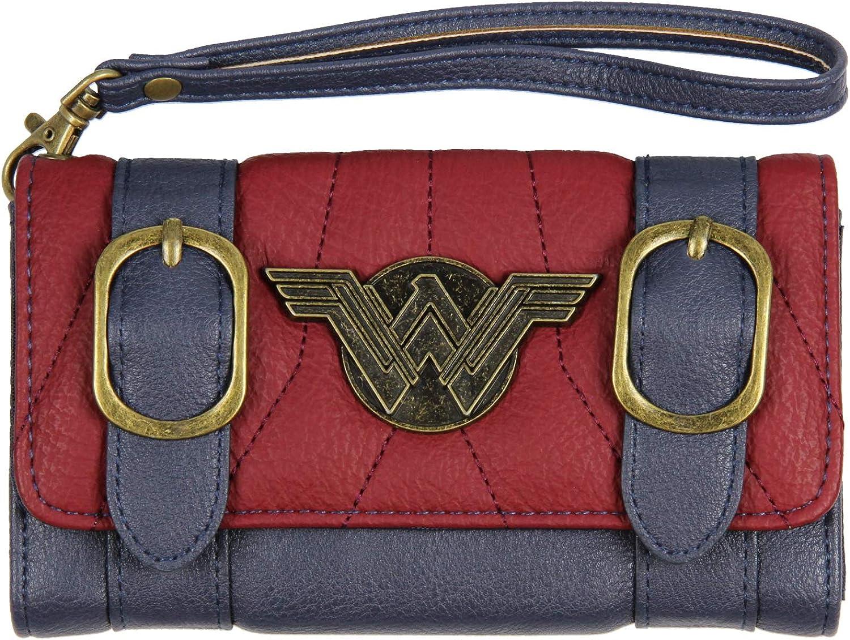 Wonder Woman Shield Card Holder Comic Print