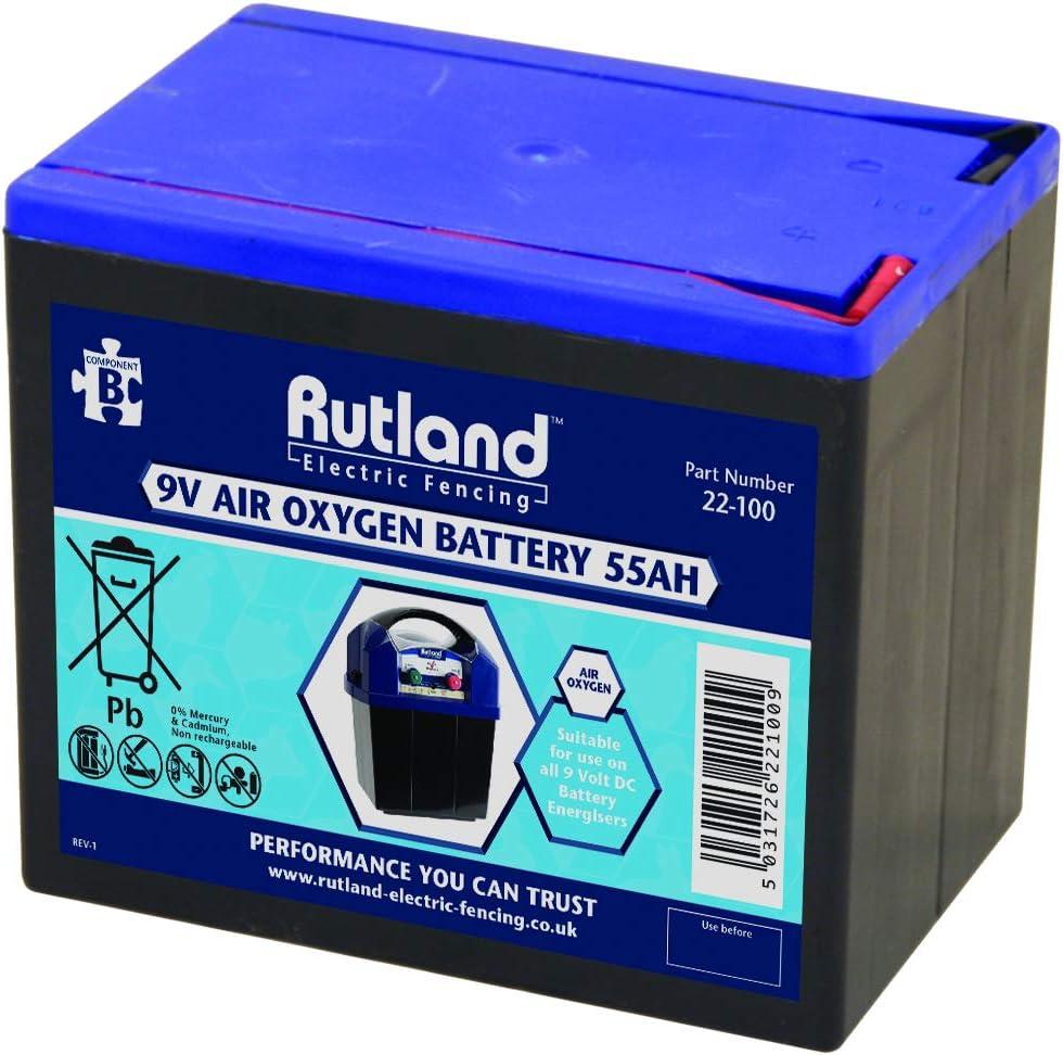 9v Electric Fencer Battery Rutland High Quality British Company 150Ah