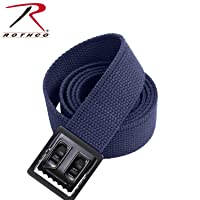 Rothco Plus Web Belts with Black Open Face Buckle