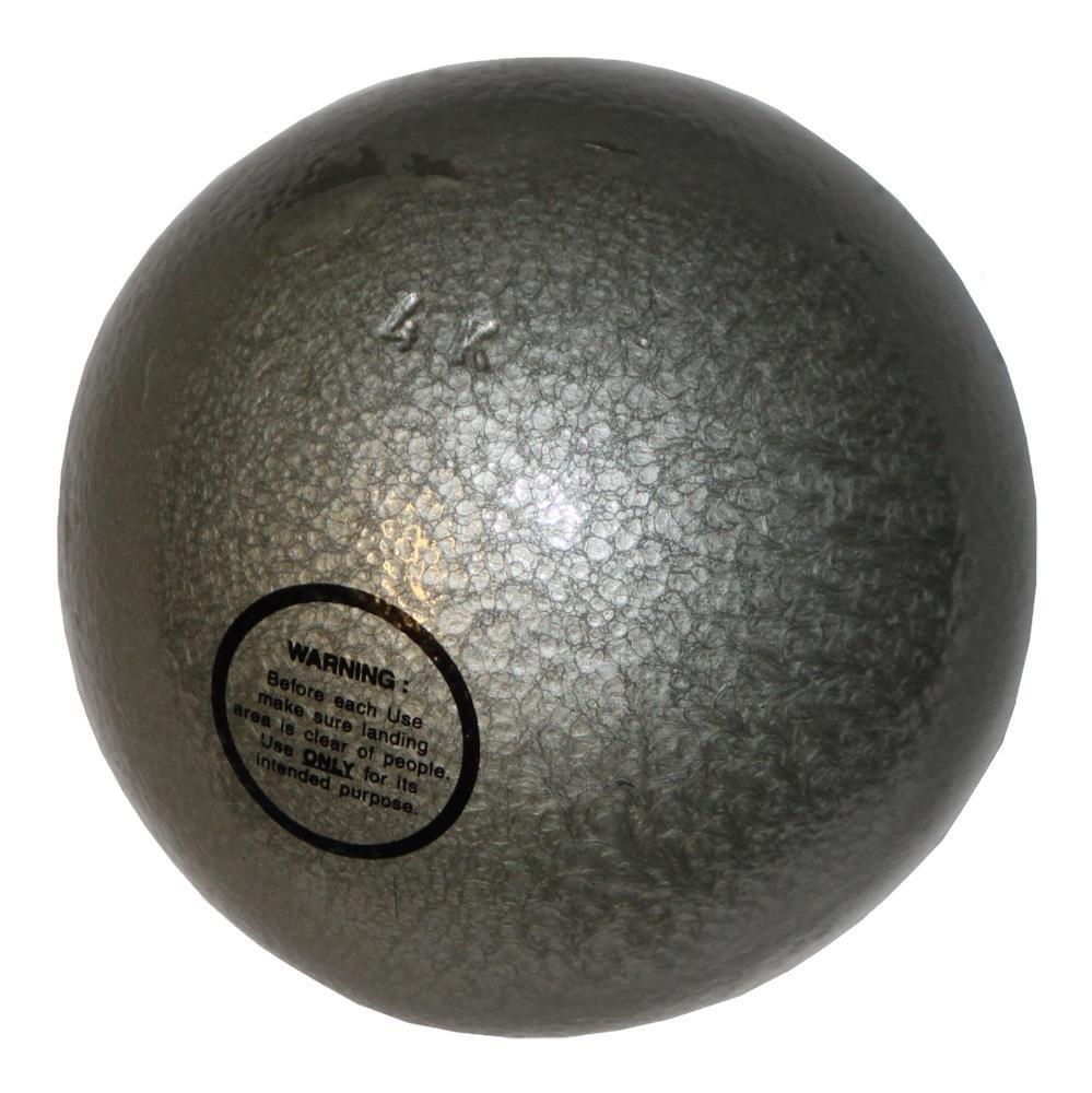 Bola de peso de hierro fundido - Entrenamiento - 4 kg gris claro