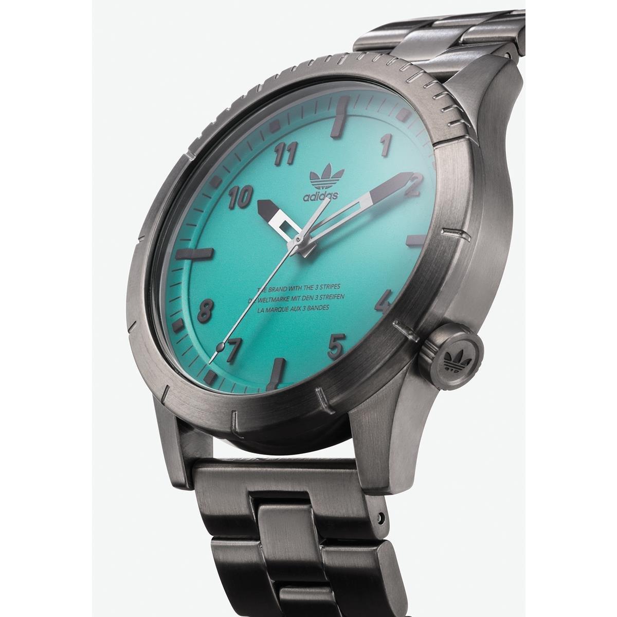Adidas by Nixon Reloj Analogico para Hombre de Cuarzo con Correa en Acero Inoxidable Z03-2917-00: Amazon.es: Relojes