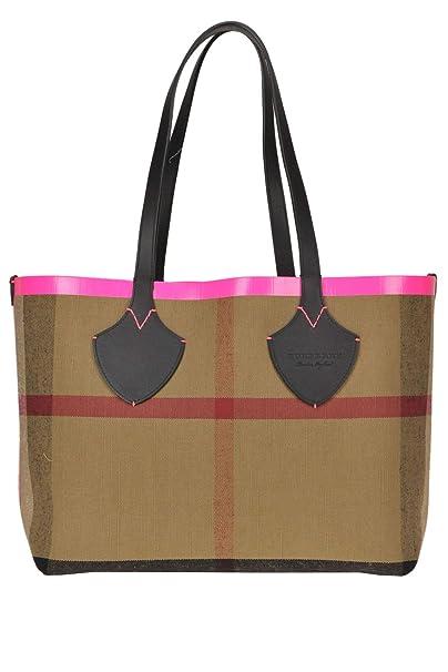 bcb55c7e87 Burberry Borsa Shopping Donna Mcglbre000005047e Tessuto Multicolor:  Amazon.it: Abbigliamento