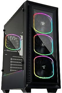 c9f186e271 ENERMAX アドレッサブルRGB LEDファン4個付属 PCケース StarryFort ECA-SF30-M1BB