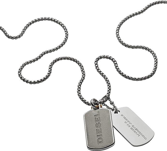 collier plaque militaire diesel