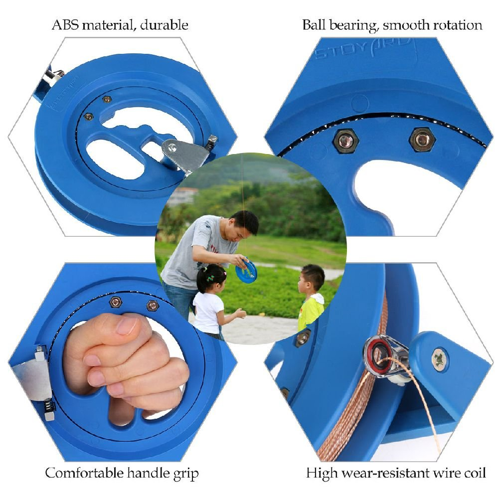 Kite Line Winder Winding Reel Grip Wheel + Flying Line String Flying Tools New