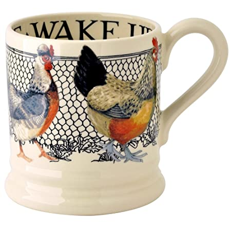 4 Ceramic Coasters in Emma Bridgewater Hens Chickens and Toast