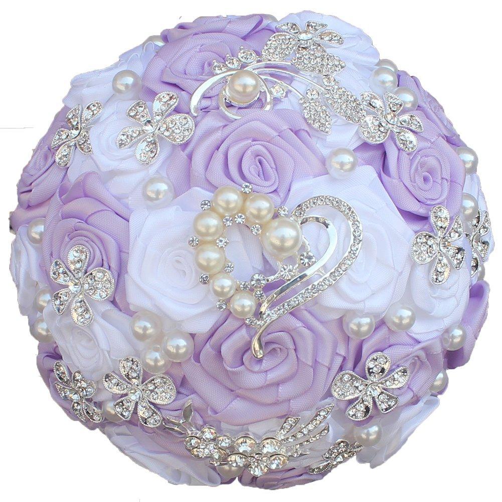 Ribbon Bridal Bouquet Amazon
