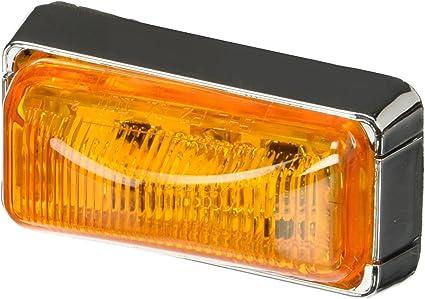 Lot of 2 Optronics Amber LED Marker clearance Trailer Light Kit