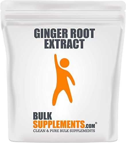 Bulksupplements Ginger Root Extract Powder 100 Grams