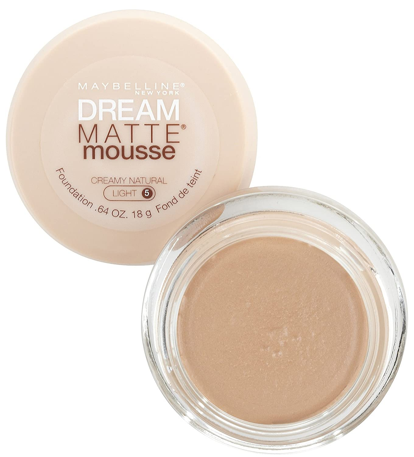 Amazon Com Maybelline Dream Matte Mousse Foundation Creamy Natural