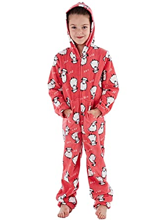 a56beb8cb Girls Sheep Printed Fun Animal Zip Through