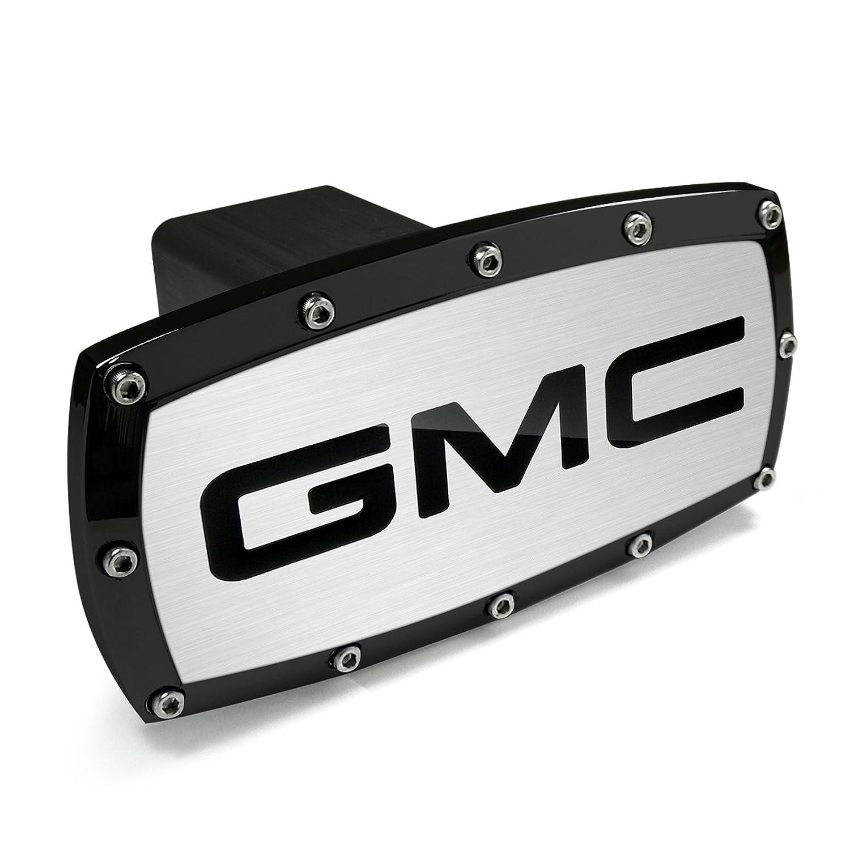 GMC Black Trim Billet Aluminum Tow Hitch Cover Car Beyond Store