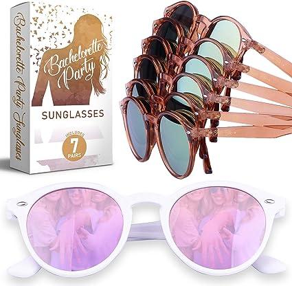 Amazon.com: Gafas de sol para fiesta de despedida de soltera ...
