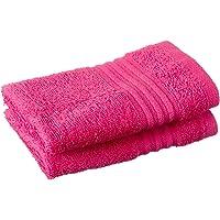 ROSA HOME Bordeaux Bellesa Large Cotton Hand Towel, 33 x 33 cm - Fuchsia