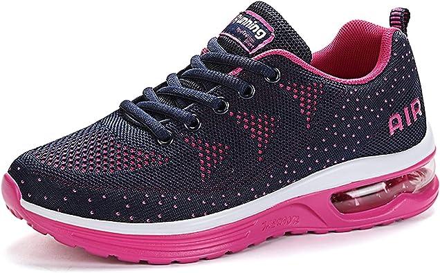 Zapatillas de Deportes Hombre Mujer Zapatos Deportivos Aire Libre para Correr Calzado Sneakers Gimnasio Casual Running Zapatillas para Correr: Amazon.es: Zapatos y complementos
