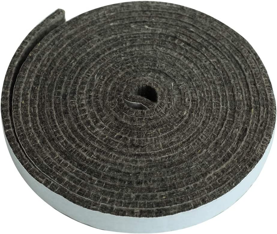 DOLAMOTY 15ft High Temp Gasket Replacement for Large/XLarge Big Green Egg Parts,Big Green Egg Accessories Smoker BGE Gasket Pre-Shrunk Accessories Self Stick Felt, 7/8