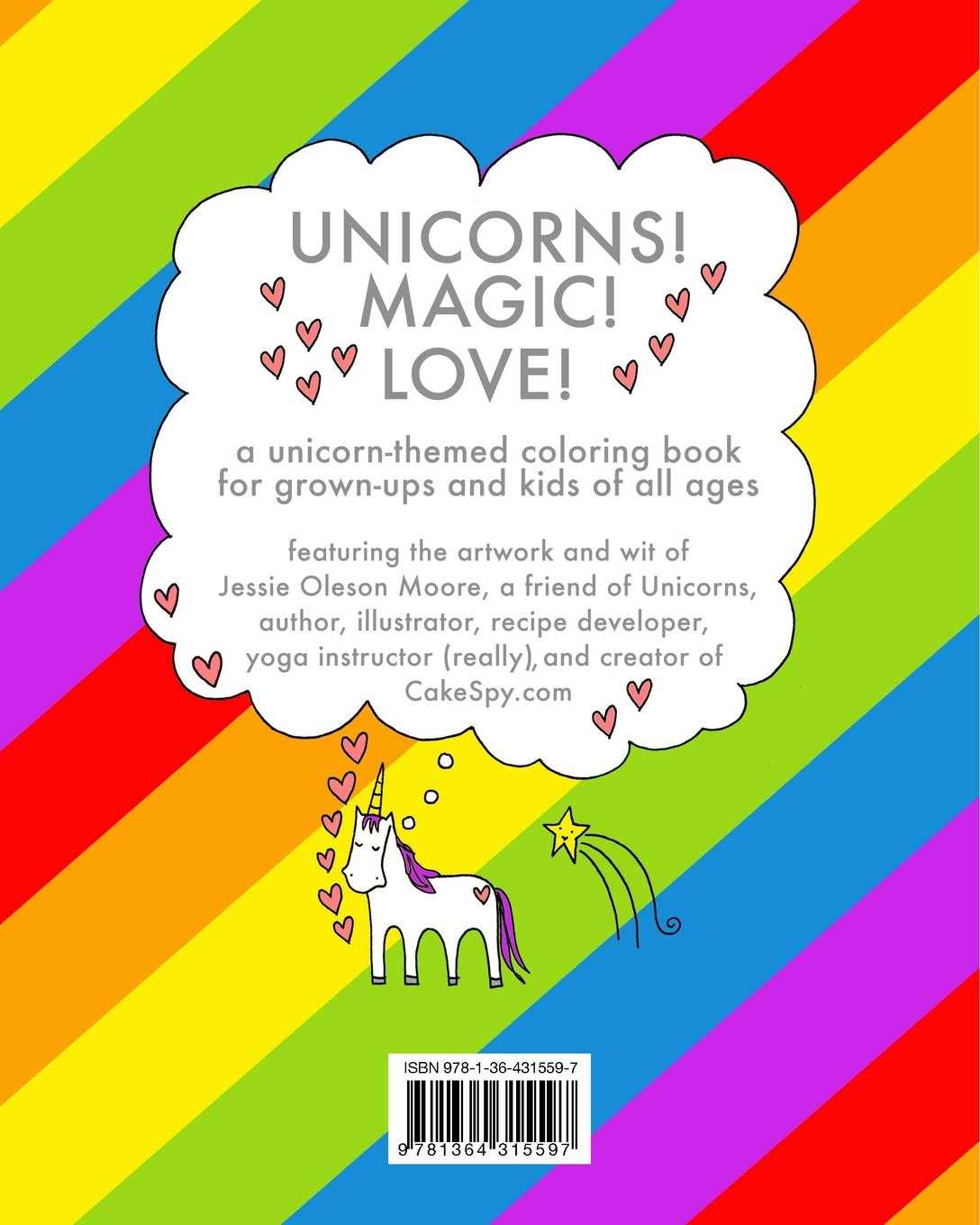 Charming True Colors Book Huge For Colored Girls Book Shaped Color Me Coloring Book 3d Coloring Book Youthful Cheap Coloring Books BrightSonic The Hedgehog Coloring Book Amazon.com: The Unicorn Coloring Book (9781364315597): Jessie ..