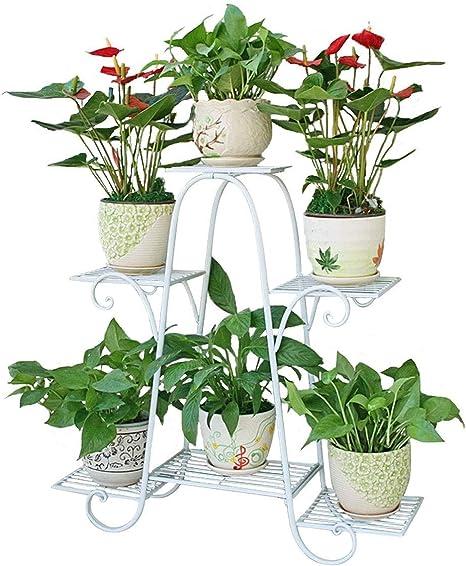 BAIF Soporte de Plantas Estante de Soporte de Flores para el jardín de la casa Estante