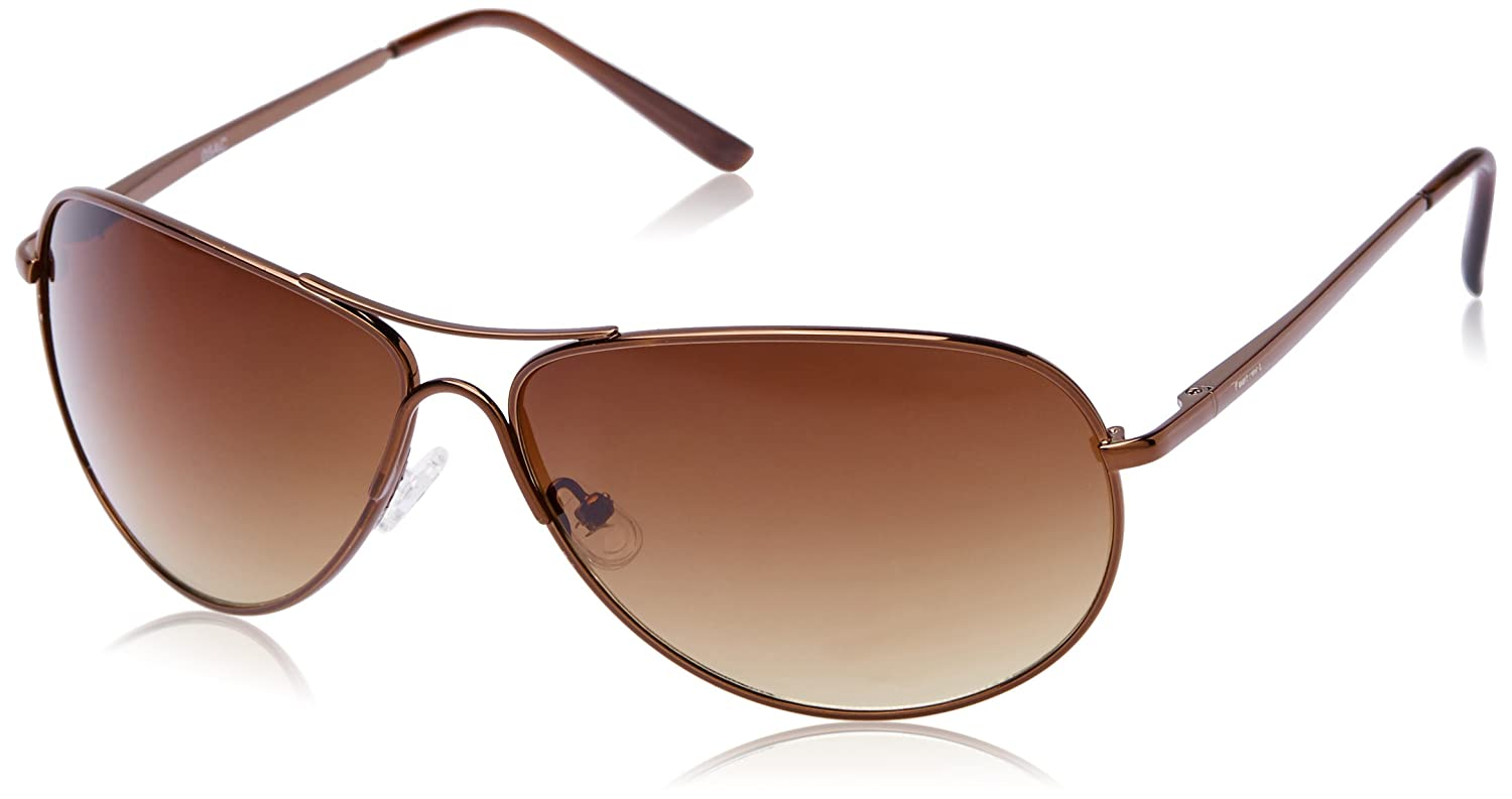 9817a00a3e33 Fastrack Aviator Unisex Sunglasses - (M050BR5|64|Brown): Amazon.in:  Clothing & Accessories